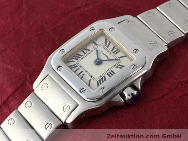 Used luxury watch Cartier Santos steel quartz  | 140239 01