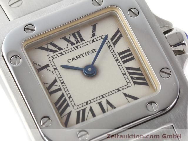 Used luxury watch Cartier Santos steel quartz  | 140239 02