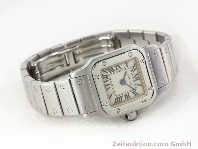 Used luxury watch Cartier Santos steel quartz  | 140239 03
