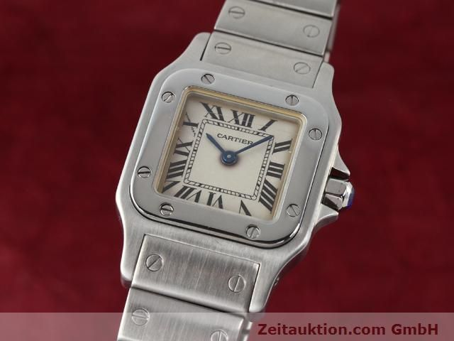 Used luxury watch Cartier Santos steel quartz  | 140239 04