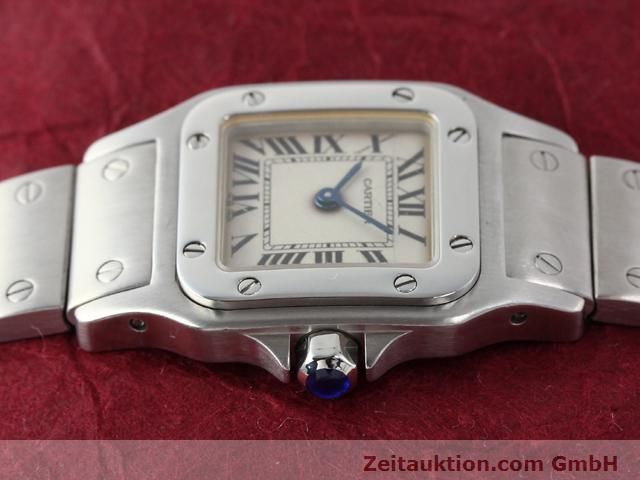 Used luxury watch Cartier Santos steel quartz  | 140239 05