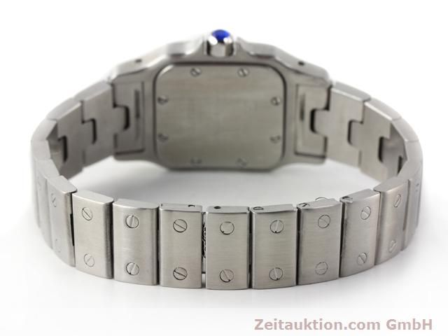 Used luxury watch Cartier Santos steel quartz  | 140239 10