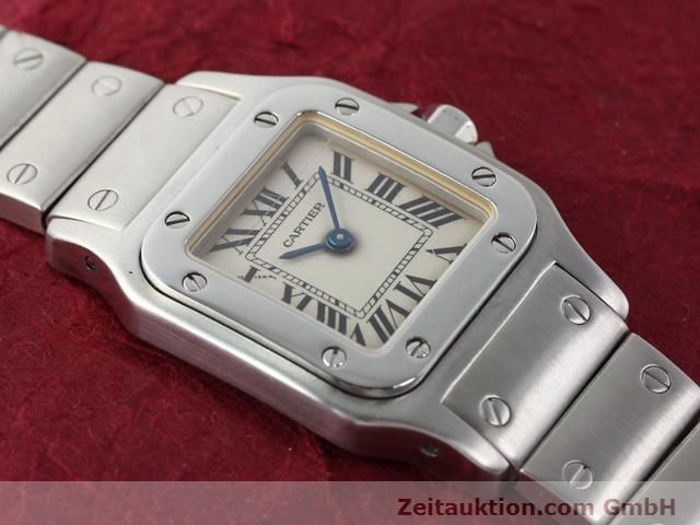 Used luxury watch Cartier Santos steel quartz  | 140239 12