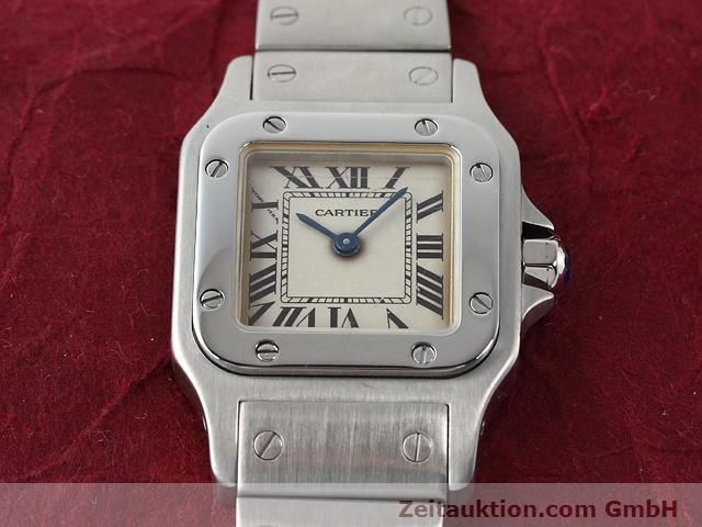 Used luxury watch Cartier Santos steel quartz  | 140239 13