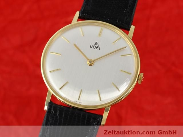 Used luxury watch Ebel * 18 ct gold manual winding Kal. 97B Ref. 143  | 140242 04