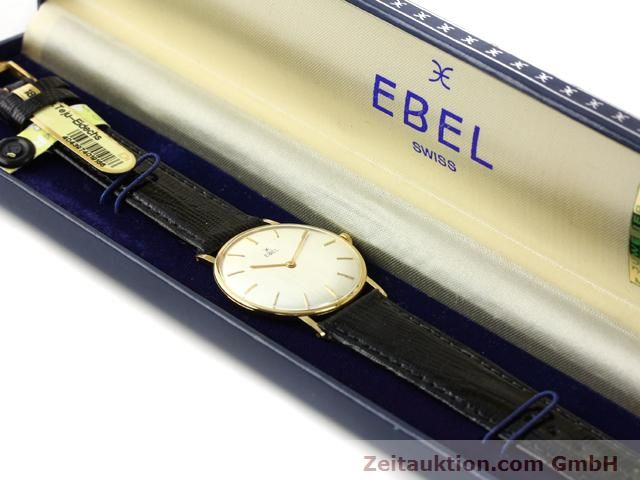 Used luxury watch Ebel * 18 ct gold manual winding Kal. 97B Ref. 143  | 140242 07