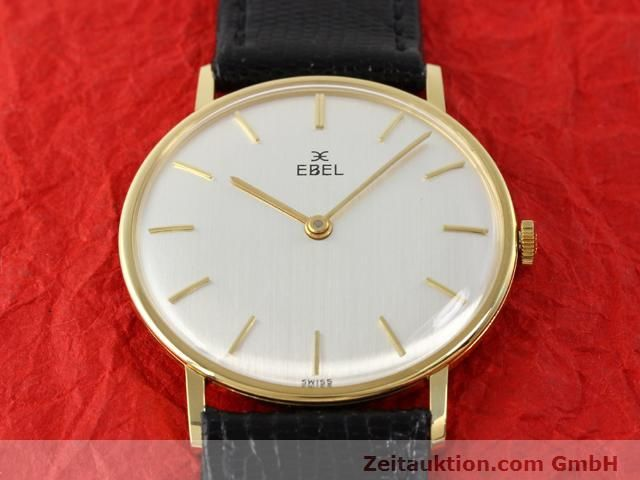 Used luxury watch Ebel * 18 ct gold manual winding Kal. 97B Ref. 143  | 140242 14