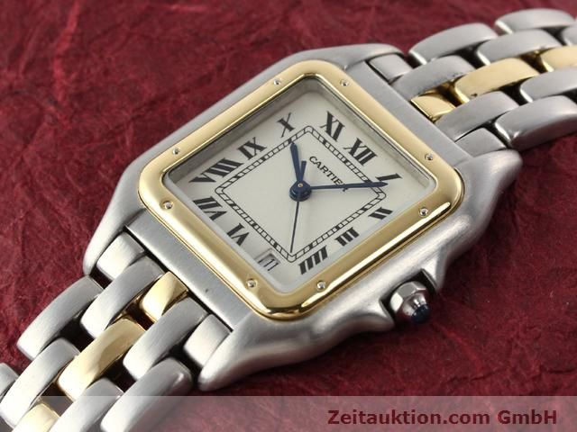 Used luxury watch Cartier Panthere steel / gold quartz Kal. 2.89  | 140243 01