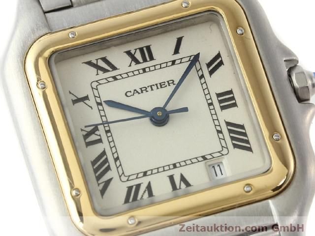Used luxury watch Cartier Panthere steel / gold quartz Kal. 2.89  | 140243 02
