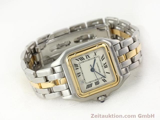 Used luxury watch Cartier Panthere steel / gold quartz Kal. 2.89  | 140243 03