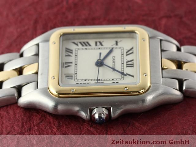 Used luxury watch Cartier Panthere steel / gold quartz Kal. 2.89  | 140243 05