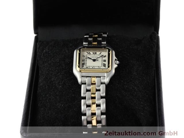 Used luxury watch Cartier Panthere steel / gold quartz Kal. 2.89  | 140243 07