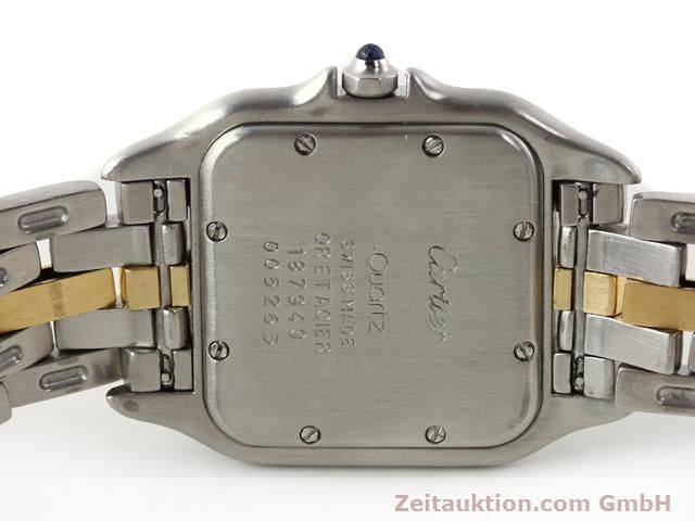 Used luxury watch Cartier Panthere steel / gold quartz Kal. 2.89  | 140243 09