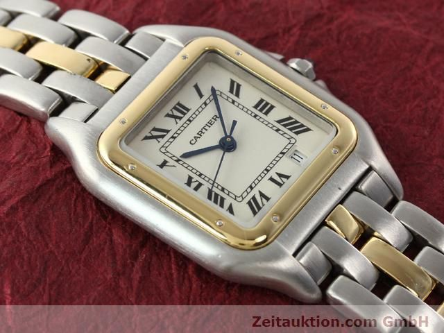 Used luxury watch Cartier Panthere steel / gold quartz Kal. 2.89  | 140243 11