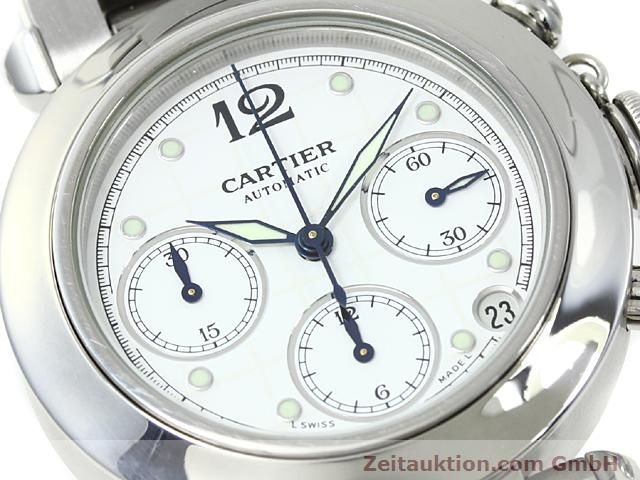 Used luxury watch Cartier Pasha steel automatic Kal. 47 (ETA 2894-2)  | 140245 02