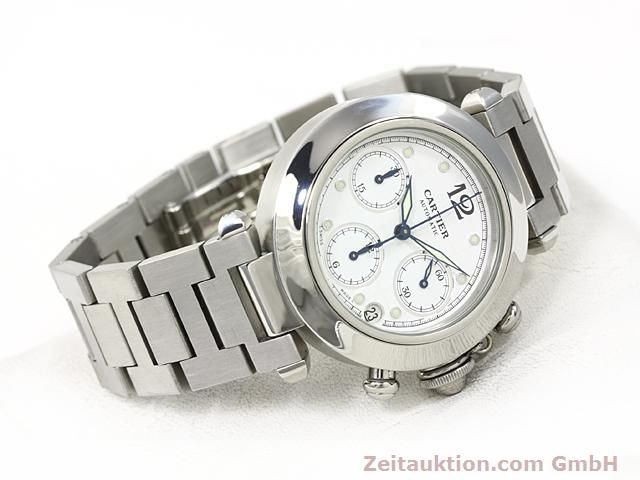 Used luxury watch Cartier Pasha steel automatic Kal. 47 (ETA 2894-2)  | 140245 03