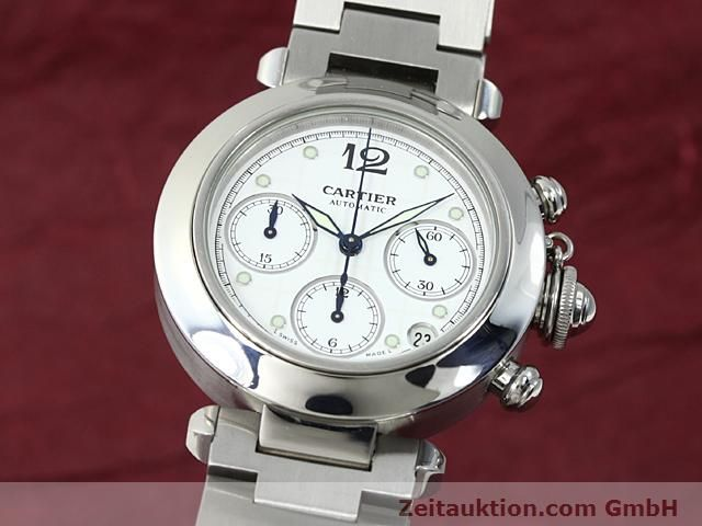 Used luxury watch Cartier Pasha steel automatic Kal. 47 (ETA 2894-2)  | 140245 04
