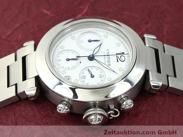 Used luxury watch Cartier Pasha steel automatic Kal. 47 (ETA 2894-2)  | 140245 05