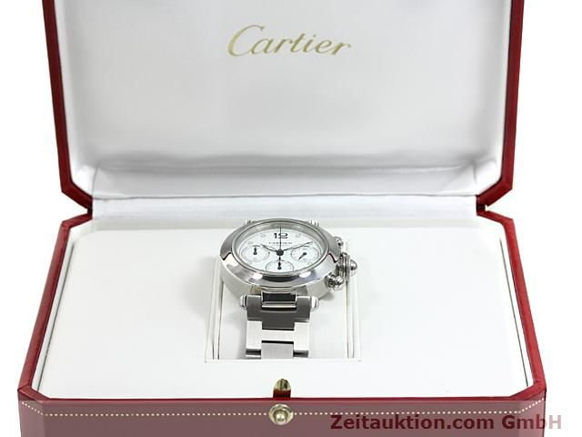 Used luxury watch Cartier Pasha steel automatic Kal. 47 (ETA 2894-2)  | 140245 07