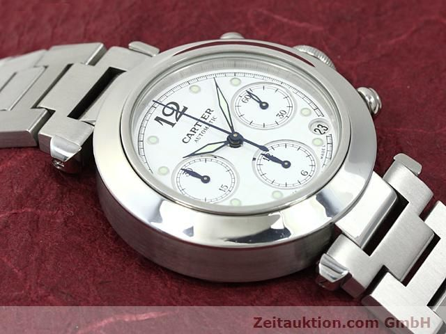 Used luxury watch Cartier Pasha steel automatic Kal. 47 (ETA 2894-2)  | 140245 14