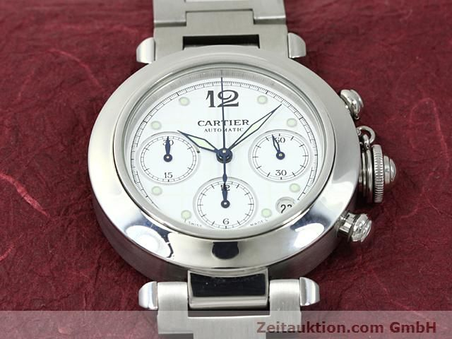 Used luxury watch Cartier Pasha steel automatic Kal. 47 (ETA 2894-2)  | 140245 15