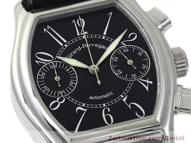 Used luxury watch Girard Perregaux Richeville steel automatic Kal. 2280-581 Ref. 2750  | 140246 02