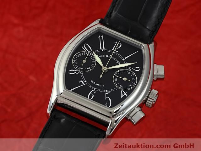 Used luxury watch Girard Perregaux Richeville steel automatic Kal. 2280-581 Ref. 2750  | 140246 04