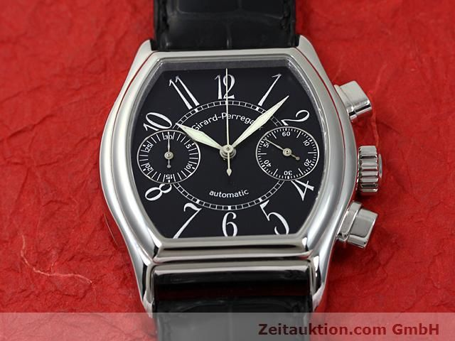 Used luxury watch Girard Perregaux Richeville steel automatic Kal. 2280-581 Ref. 2750  | 140246 14