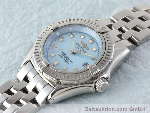 Used luxury watch Breitling Windrider steel quartz Kal. B72 (ETA 956152) Ref. A72345  | 140256 01