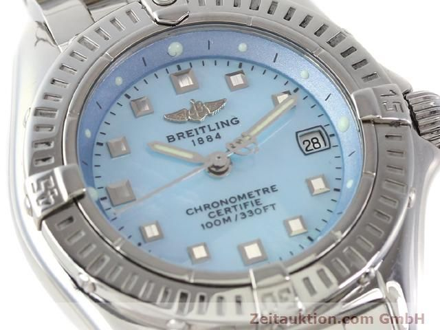 Used luxury watch Breitling Windrider steel quartz Kal. B72 (ETA 956152) Ref. A72345  | 140256 02