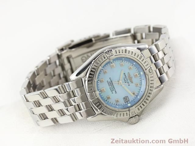 Used luxury watch Breitling Windrider steel quartz Kal. B72 (ETA 956152) Ref. A72345  | 140256 03