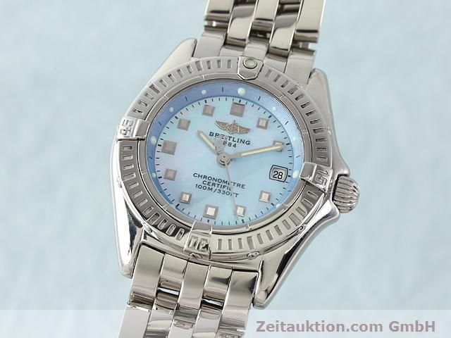 Used luxury watch Breitling Windrider steel quartz Kal. B72 (ETA 956152) Ref. A72345  | 140256 04