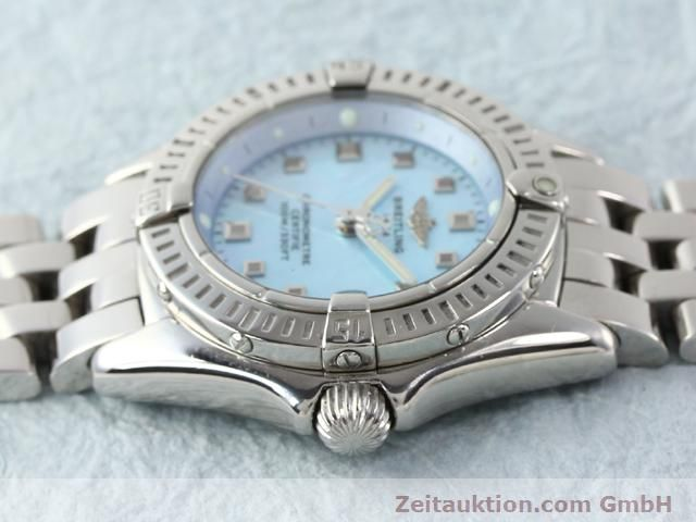 Used luxury watch Breitling Windrider steel quartz Kal. B72 (ETA 956152) Ref. A72345  | 140256 05
