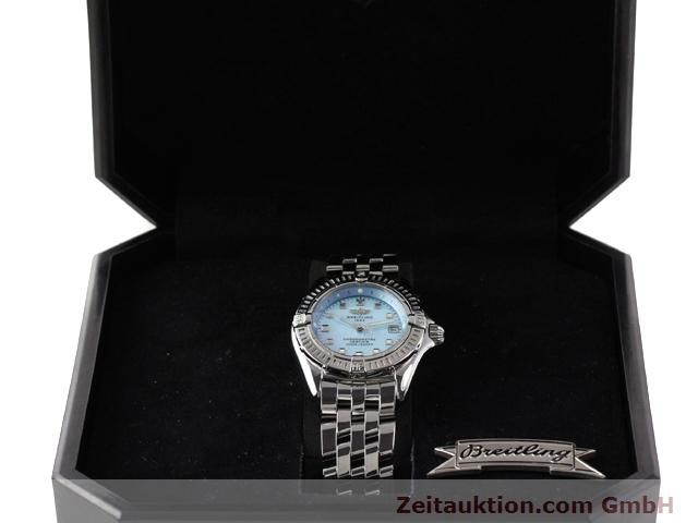 Used luxury watch Breitling Windrider steel quartz Kal. B72 (ETA 956152) Ref. A72345  | 140256 07