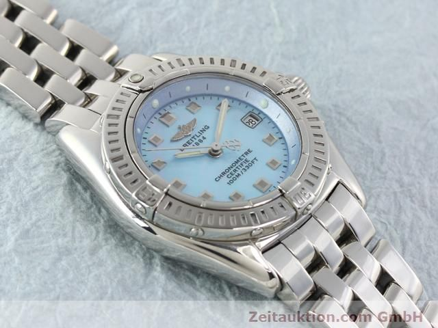 Used luxury watch Breitling Windrider steel quartz Kal. B72 (ETA 956152) Ref. A72345  | 140256 14