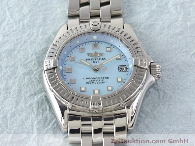 Used luxury watch Breitling Windrider steel quartz Kal. B72 (ETA 956152) Ref. A72345  | 140256 15