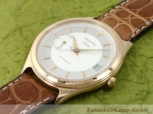 montre de luxe d occasion Zenith Elite or rouge 18 ct automatique Kal. 680 Ref. 170040680  | 140257 01