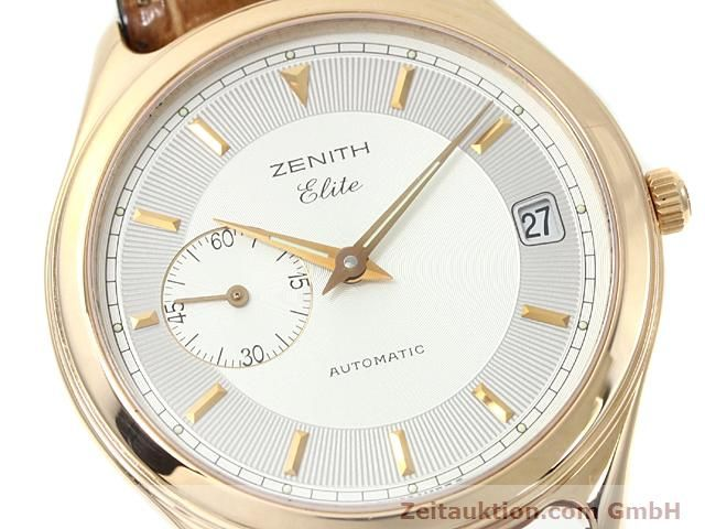 montre de luxe d occasion Zenith Elite or rouge 18 ct automatique Kal. 680 Ref. 170040680  | 140257 02