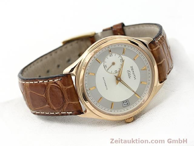montre de luxe d occasion Zenith Elite or rouge 18 ct automatique Kal. 680 Ref. 170040680  | 140257 03