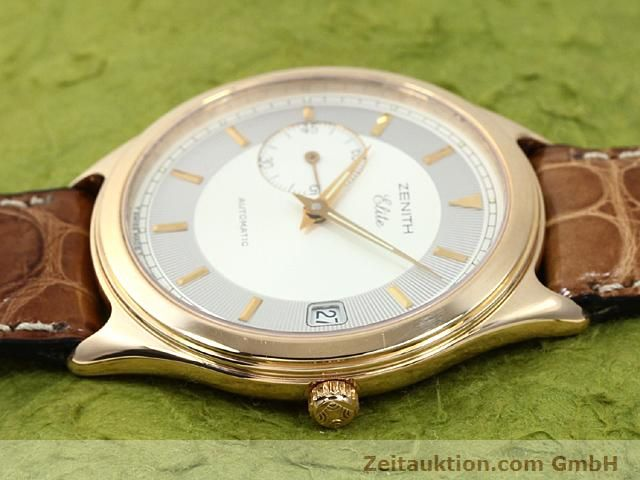 montre de luxe d occasion Zenith Elite or rouge 18 ct automatique Kal. 680 Ref. 170040680  | 140257 05