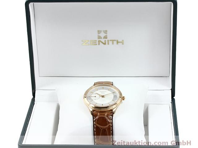 montre de luxe d occasion Zenith Elite or rouge 18 ct automatique Kal. 680 Ref. 170040680  | 140257 07