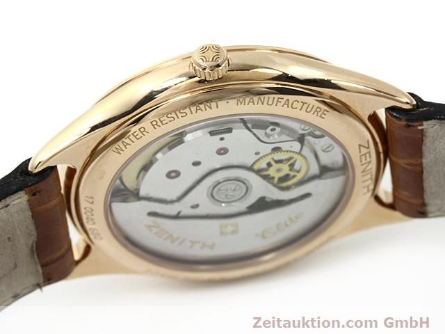 montre de luxe d occasion Zenith Elite or rouge 18 ct automatique Kal. 680 Ref. 170040680  | 140257 08