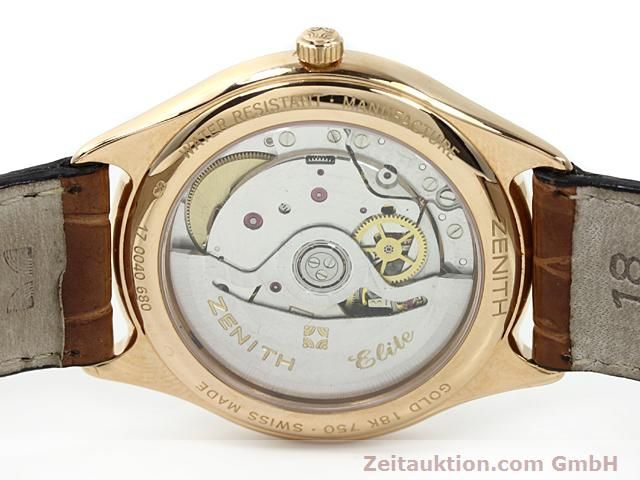 montre de luxe d occasion Zenith Elite or rouge 18 ct automatique Kal. 680 Ref. 170040680  | 140257 09