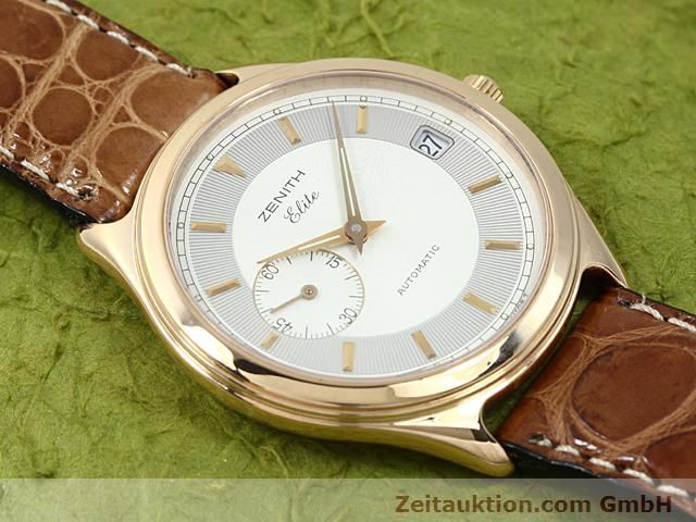 montre de luxe d occasion Zenith Elite or rouge 18 ct automatique Kal. 680 Ref. 170040680  | 140257 13