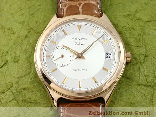 montre de luxe d occasion Zenith Elite or rouge 18 ct automatique Kal. 680 Ref. 170040680  | 140257 14