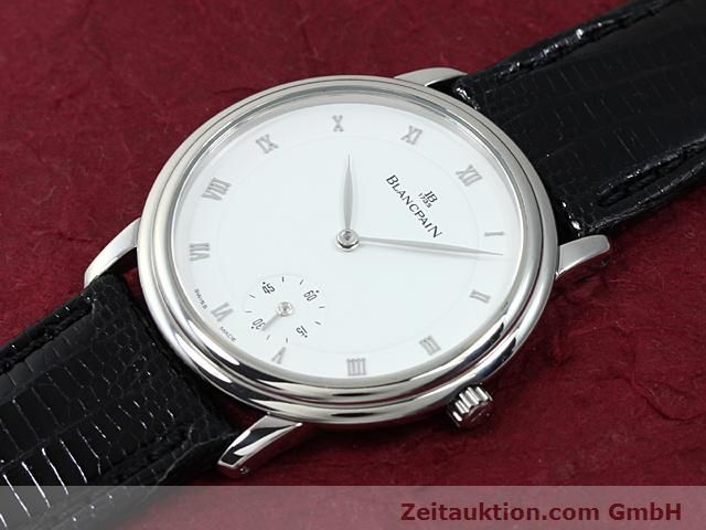 Used luxury watch Blancpain Villeret steel automatic Kal. 71  | 140262 01