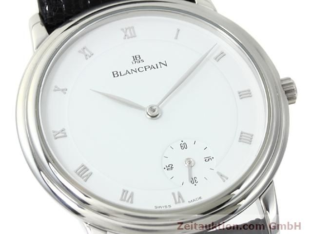 Used luxury watch Blancpain Villeret steel automatic Kal. 71  | 140262 02