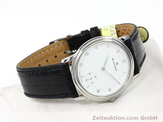 Used luxury watch Blancpain Villeret steel automatic Kal. 71  | 140262 03