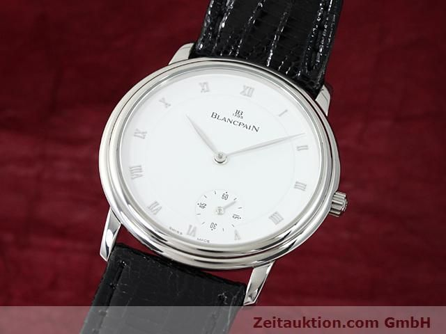 Used luxury watch Blancpain Villeret steel automatic Kal. 71  | 140262 04