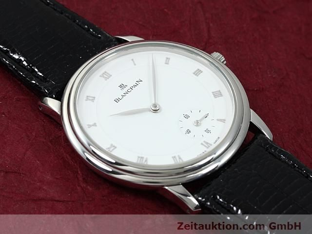 Used luxury watch Blancpain Villeret steel automatic Kal. 71  | 140262 15